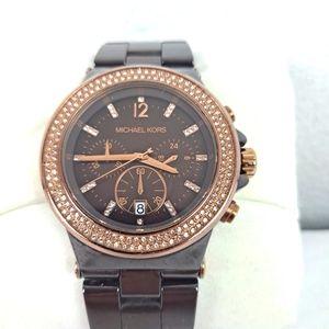 Michael Kors Chocolate Brown Watch